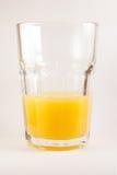 玻璃highball汁液桔子 库存照片