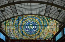 玻璃mosaik 免版税库存照片