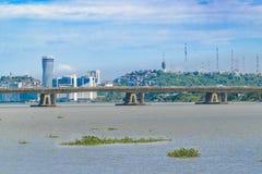 瓜亚基尔都市风景 免版税库存照片