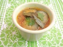 黄瓜汤 免版税图库摄影