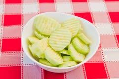 黄瓜沙拉 库存图片
