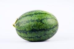 瓜的边是绿色条纹是独特的 库存照片