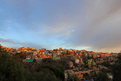 瓜纳华托州墨西哥全景  免版税库存图片
