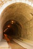 瓜纳华托州,墨西哥地下隧道  免版税库存照片