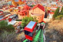 瓜纳华托州,风景城市监视 库存照片
