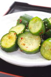 黄瓜腌汁 库存图片
