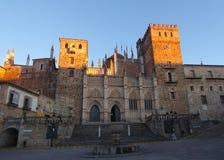 瓜达卢佩河圣玛丽亚皇家修道院  免版税库存图片