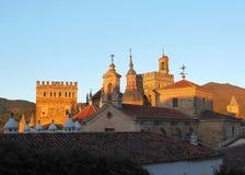 瓜达卢佩河圣玛丽亚皇家修道院  免版税库存照片