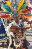 瓜达卢佩河的维尔京的宗教节日在墨西哥城 图库摄影