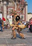 瓜达卢佩河的维尔京的宗教节日在墨西哥城 库存照片