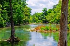 瓜达卢佩河 库存照片