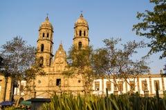 瓜达拉哈拉Zapopan Catedral大教堂哈利斯科州墨西哥 免版税图库摄影