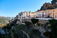 瓜达莱斯特西班牙老镇  免版税库存图片