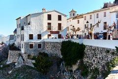 瓜达莱斯特西班牙老镇  免版税图库摄影
