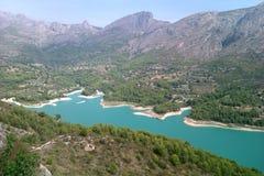 瓜达莱斯特,西班牙水库  库存图片