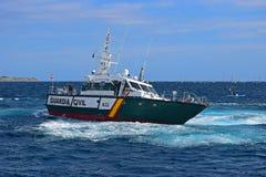瓜迪亚民用发射富豪集团海洋种族阿利坎特2017年 免版税库存图片