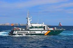 瓜迪亚民用发射富豪集团海洋种族阿利坎特2017年 图库摄影