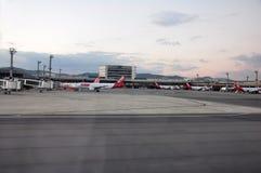 瓜鲁柳斯国际机场,圣保罗,巴西 免版税库存图片