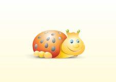瓢虫微笑 免版税库存照片