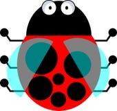 瓢虫-向量clipart 库存例证
