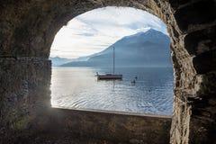 瓦伦纳(Como湖) 图库摄影