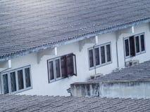瓦和窗口serie  免版税库存照片