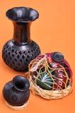 从瓦哈卡的墨西哥工艺品 库存照片