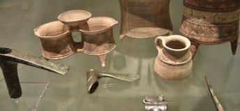 瓦器珍宝在东方艺术博物馆在罗马意大利 免版税库存图片