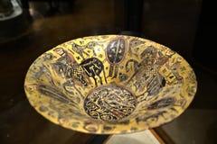瓦器珍宝在东方艺术博物馆在罗马意大利 库存图片