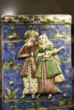 瓦器珍宝在东方艺术博物馆在罗马意大利 免版税库存照片