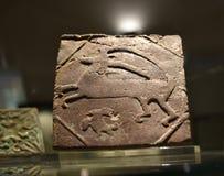瓦器珍宝在东方艺术博物馆在罗马意大利 免版税图库摄影