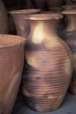 瓦器花瓶,特立尼达 免版税图库摄影