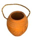 瓦器花瓶 免版税库存照片