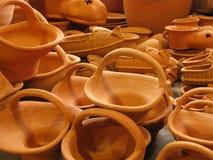 瓦器陶器 库存照片