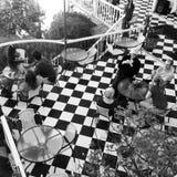 瓦尔帕莱索大阳台 免版税库存图片