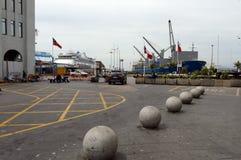 瓦尔帕莱索智利海口  免版税库存照片