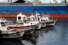 瓦尔帕莱索智利海口  免版税库存图片