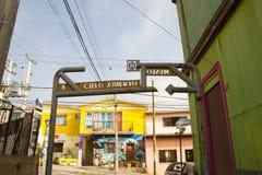 瓦尔帕莱索,智利-街道艺术 免版税图库摄影