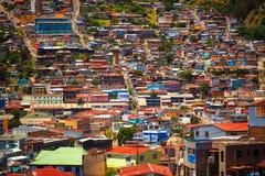 瓦尔帕莱索,智利 免版税库存照片