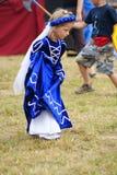 瓦尔德,波兰- 2009-07-18 :小公主 免版税库存照片