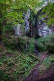 瓦尔特堡城堡的Elfs洞穴 免版税库存图片