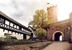 瓦尔特堡城堡 免版税库存图片