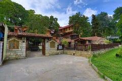 瓦尔纳修道院 库存照片