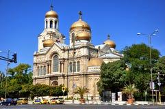 瓦尔纳大教堂 库存图片