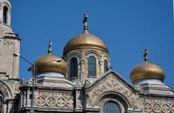 瓦尔纳大教堂 免版税库存图片