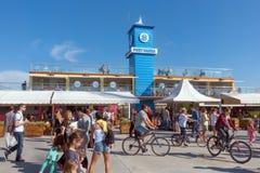 瓦尔纳海港 免版税图库摄影