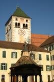 瓦尔纳BZ 2017年11月2日:Novacella修道院,南蒂罗尔, Bressanone,意大利 免版税图库摄影