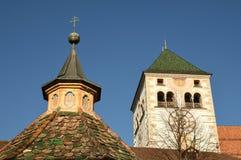 瓦尔纳BZ 2017年11月2日:Novacella修道院,南蒂罗尔, Bressanone,意大利 免版税库存照片