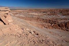 瓦尔de la月/月球或月亮谷 San Pedro de Atacama 智利 库存照片