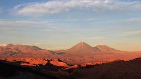 瓦尔de la月/月球,月亮的谷,阿塔卡马沙漠智利 免版税图库摄影